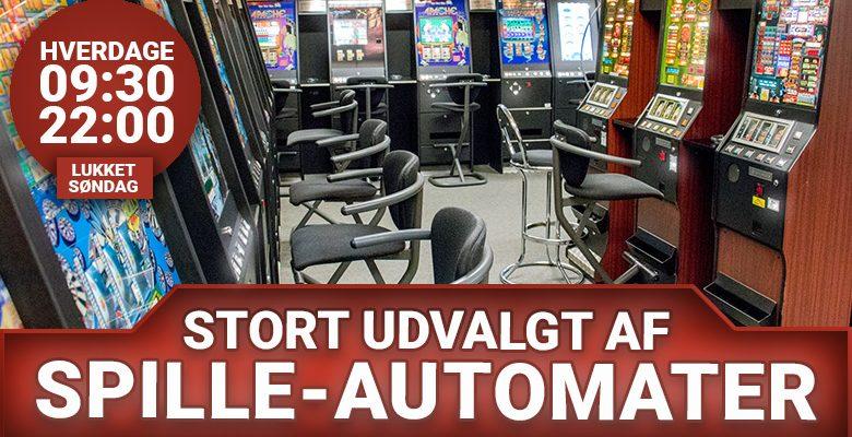Spilleautomater i Herning Banko Center
