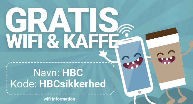 Gratis wifi i Herning Banko Center